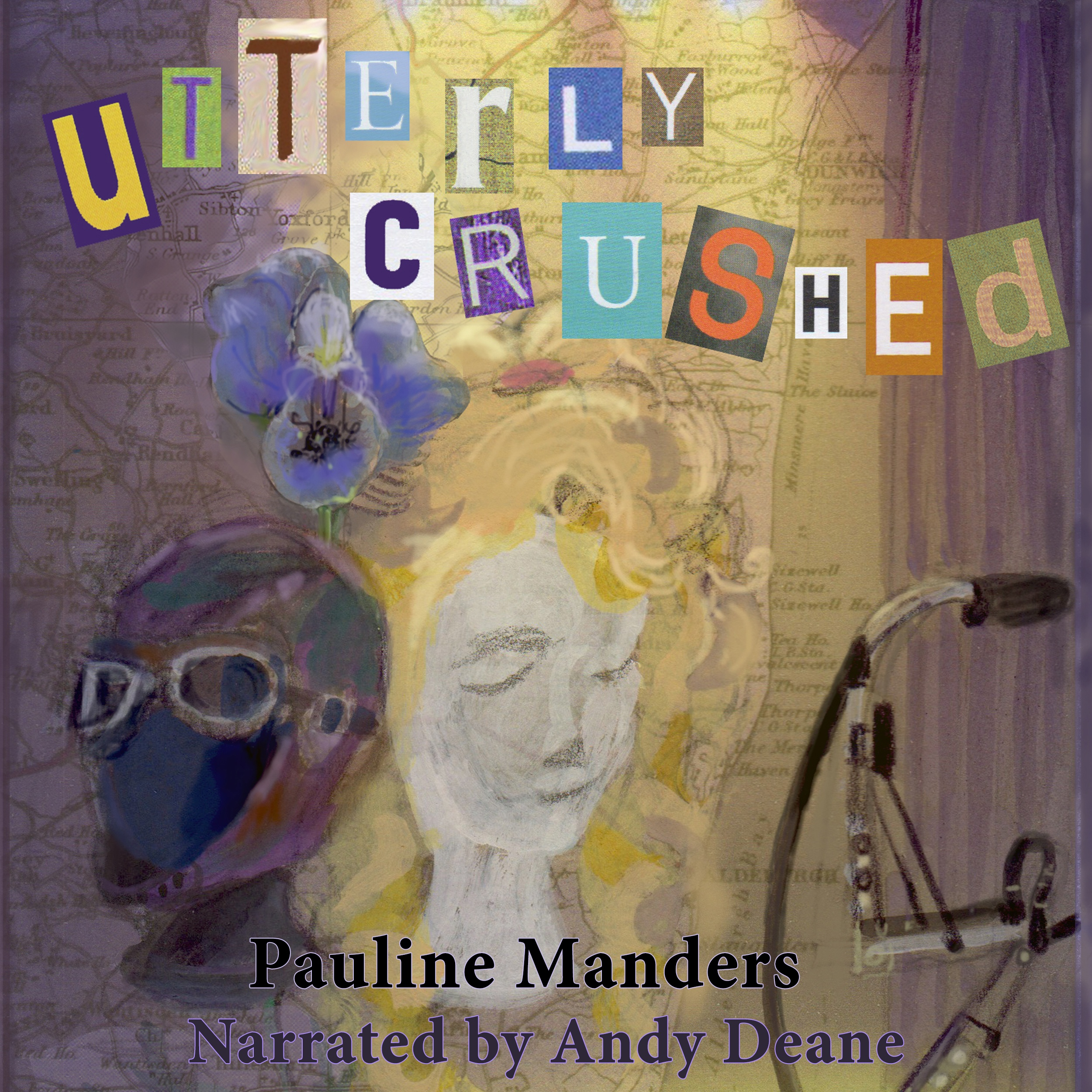 Utterly Crushed Audiobook Cover
